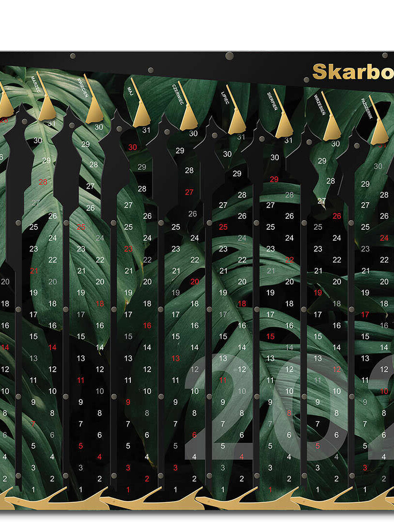 Kalendarz 2021 Monstera