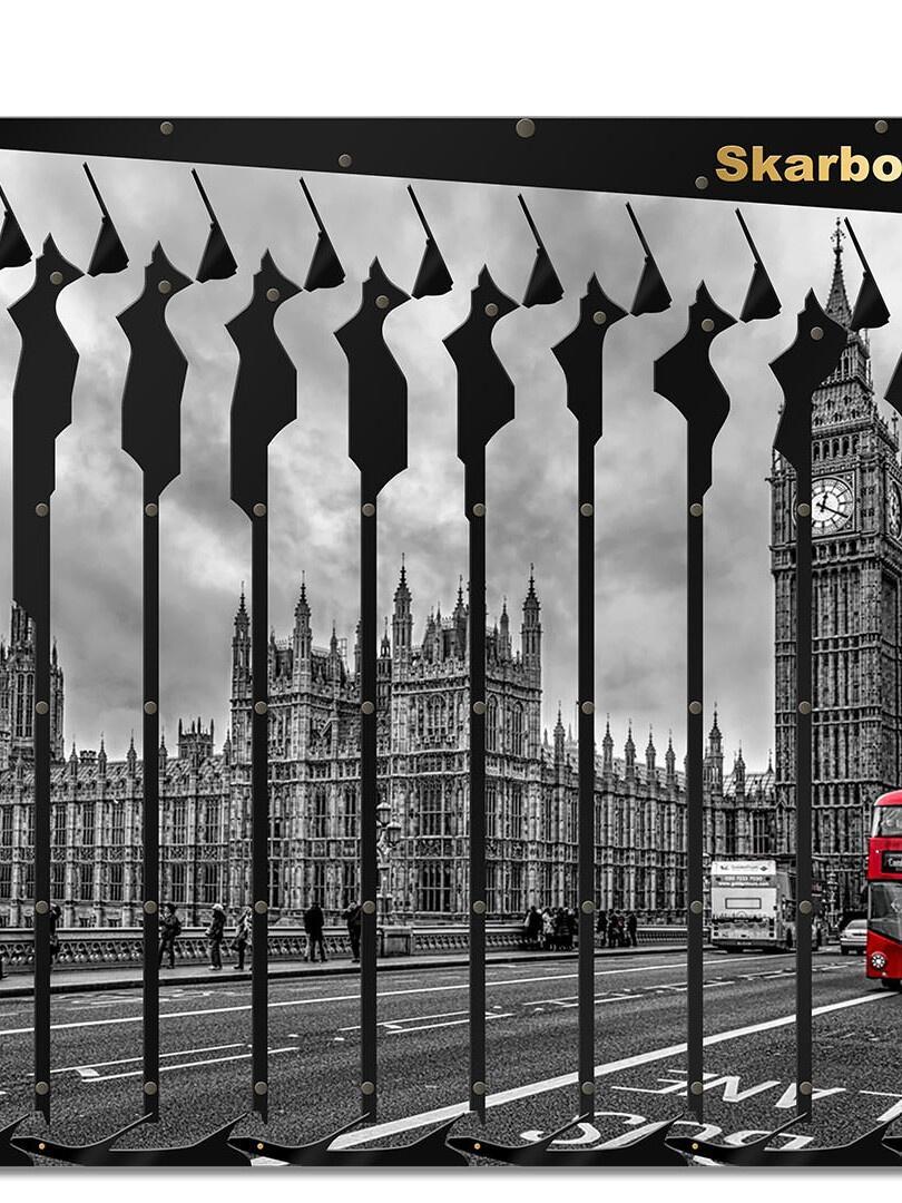 Londyn   Prezent z czerwonym autobusem