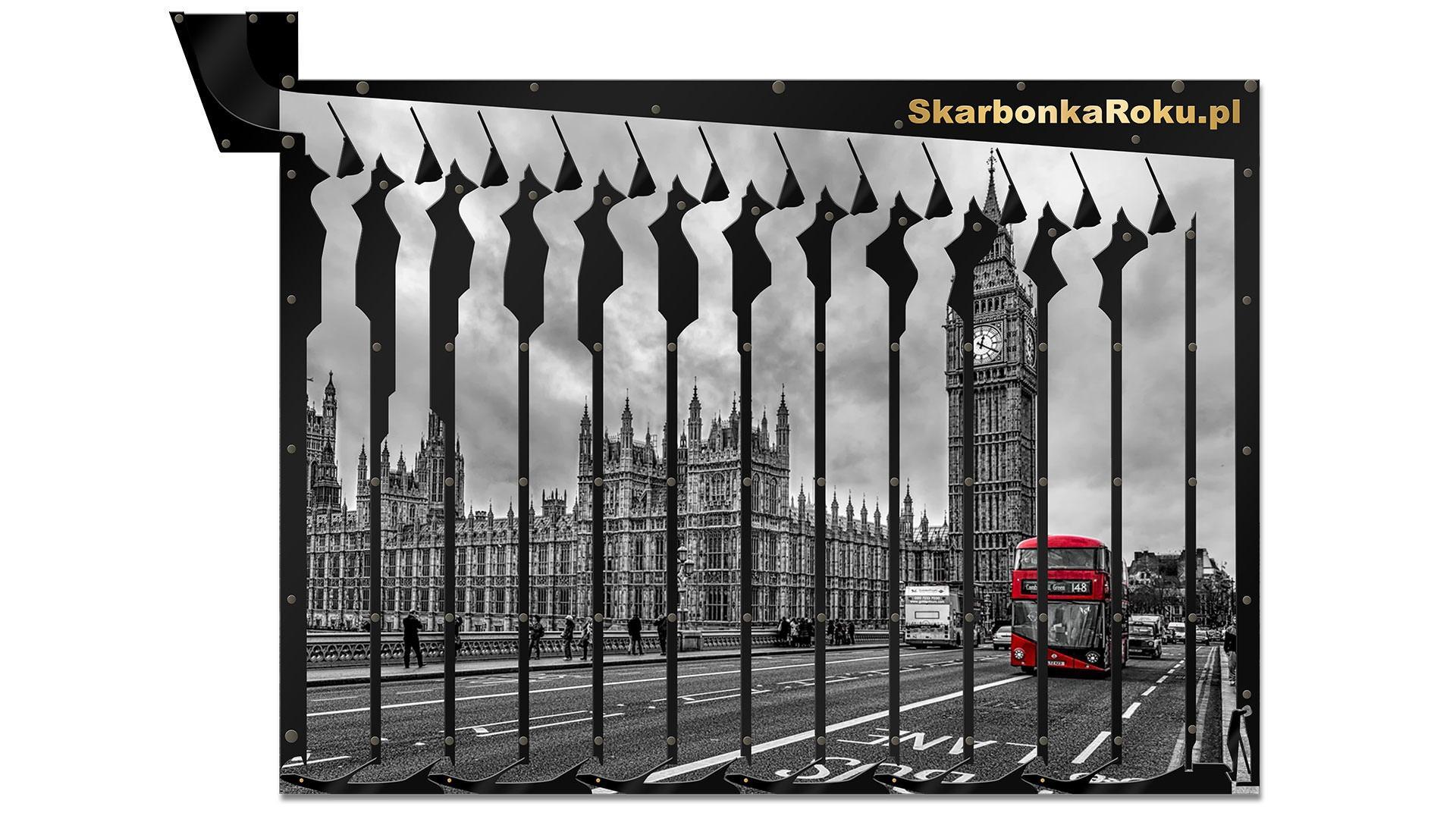 Londyn | Prezent z czerwonym autobusem